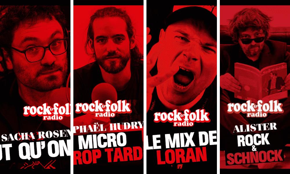 comment écouter les podcasts de Rock&Folk radio