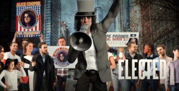 Alice Cooper-élection présidentielle américaine 2020
