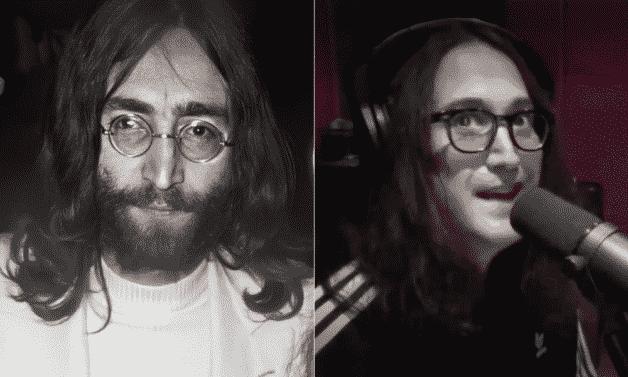 John Lennon et Sean Lennon