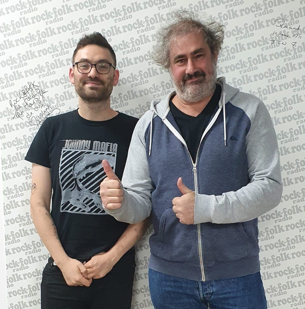 Gustave Kerven et Sacha Rosenberg Rock&Folk radio