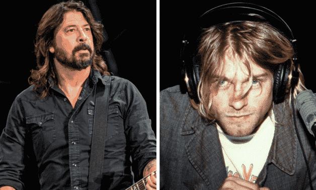 Dave Grohl et Kurt Cobain - Nirvana