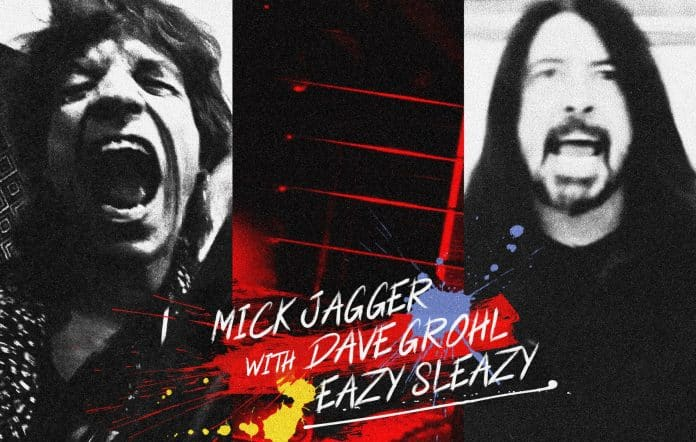 Mick Jagger et Dave Grohl single
