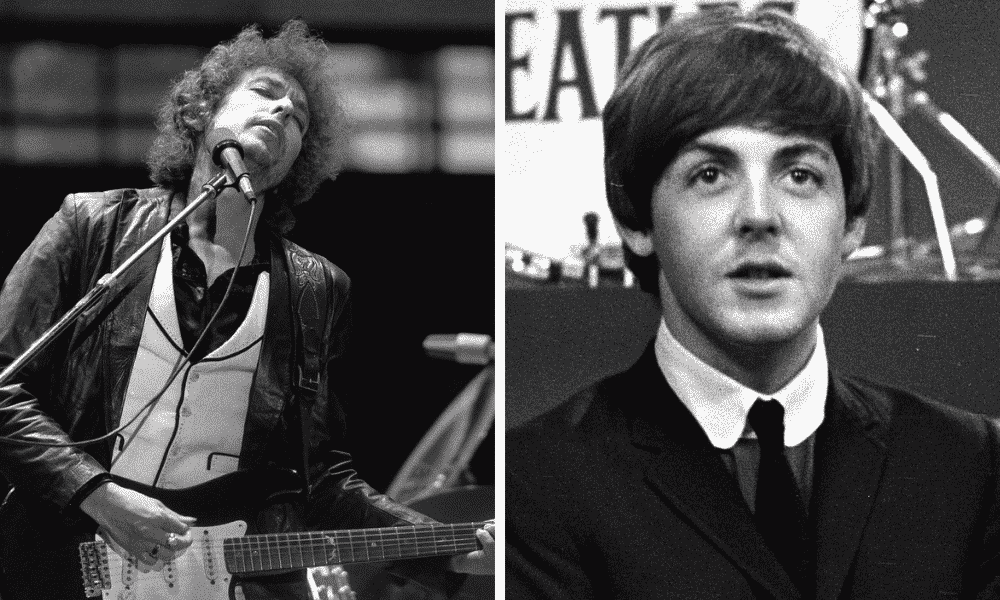 Paul McCartney - Bob Dylan