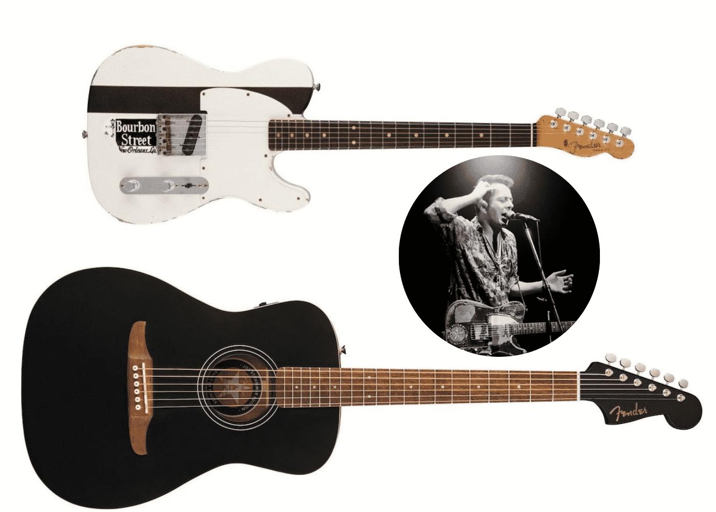 Joe Strummer guitares