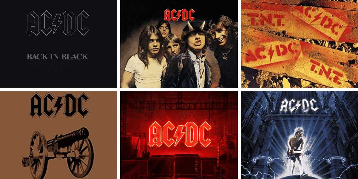 AC/DC covers