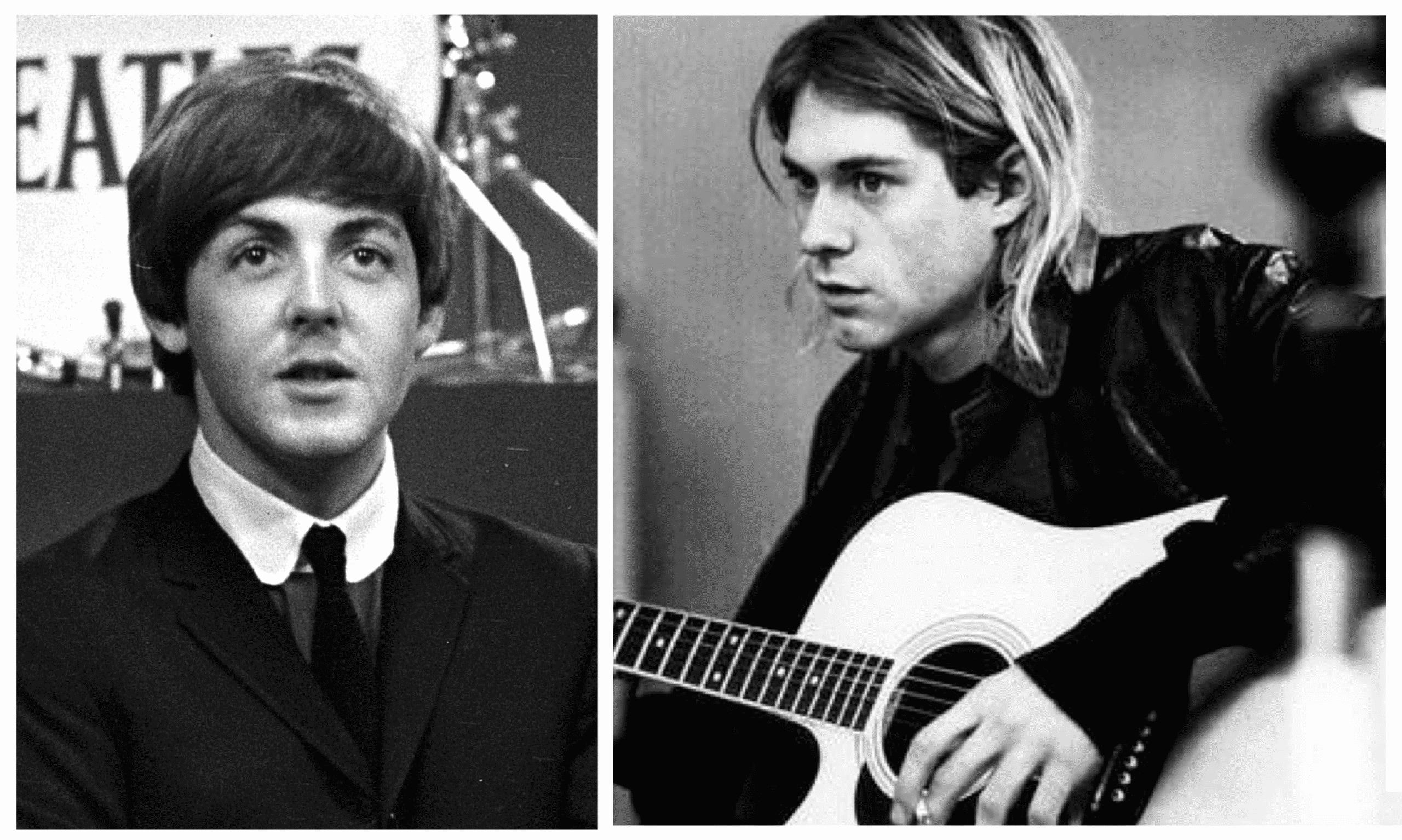Paul McCartney - Kurt Cobain