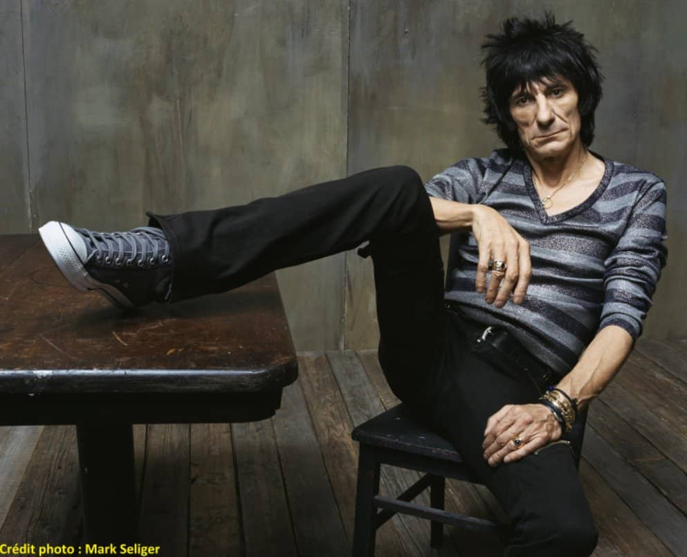 Ron Wood_Mr Luck