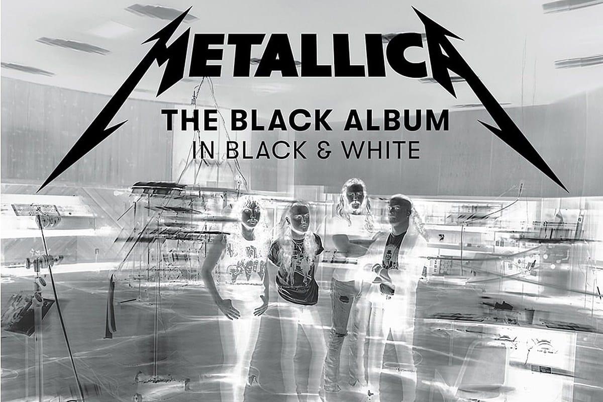 The Black Album In Black And White-Metallica