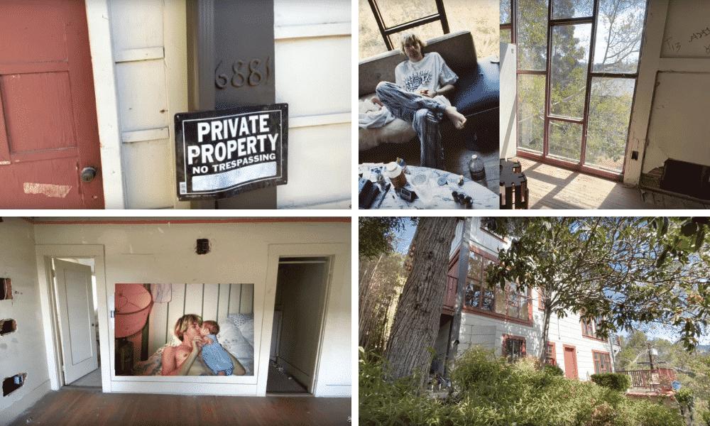 Kurt Cobain maison abandonnée à Hollywood