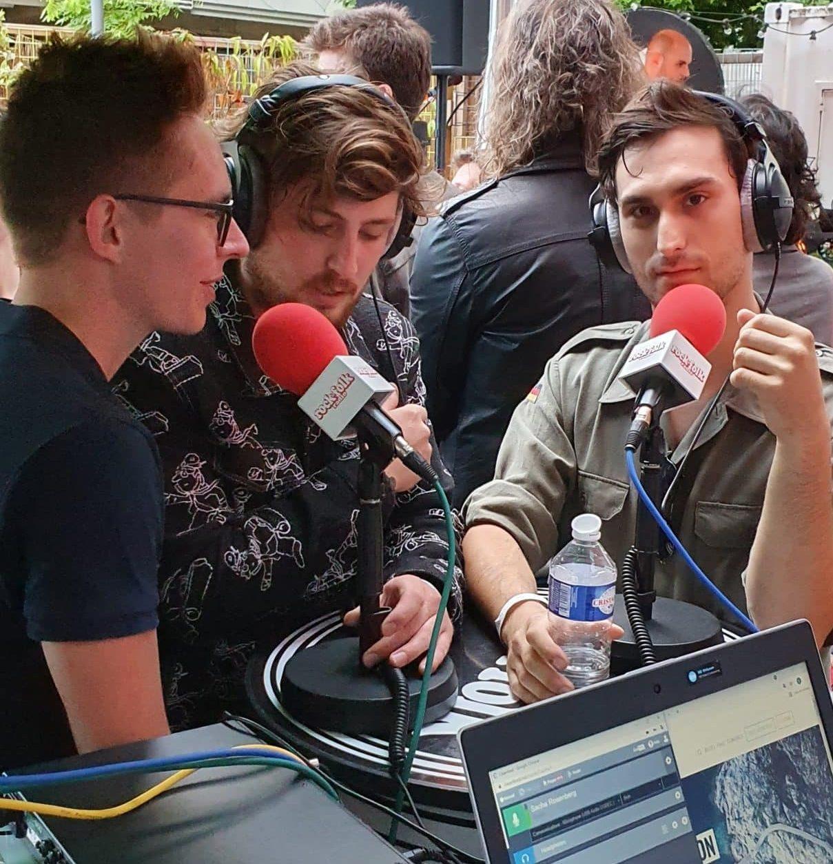 Orange Signal en interview pour le Tremplin Rock&Folk radio