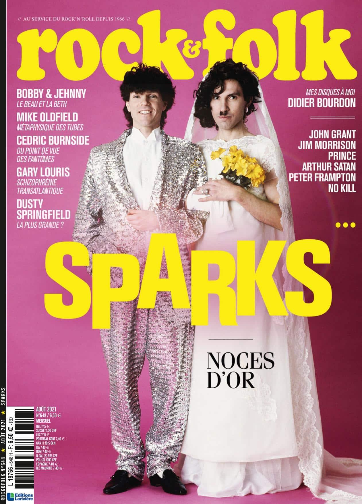 Sparks couverture de Rock&Folk