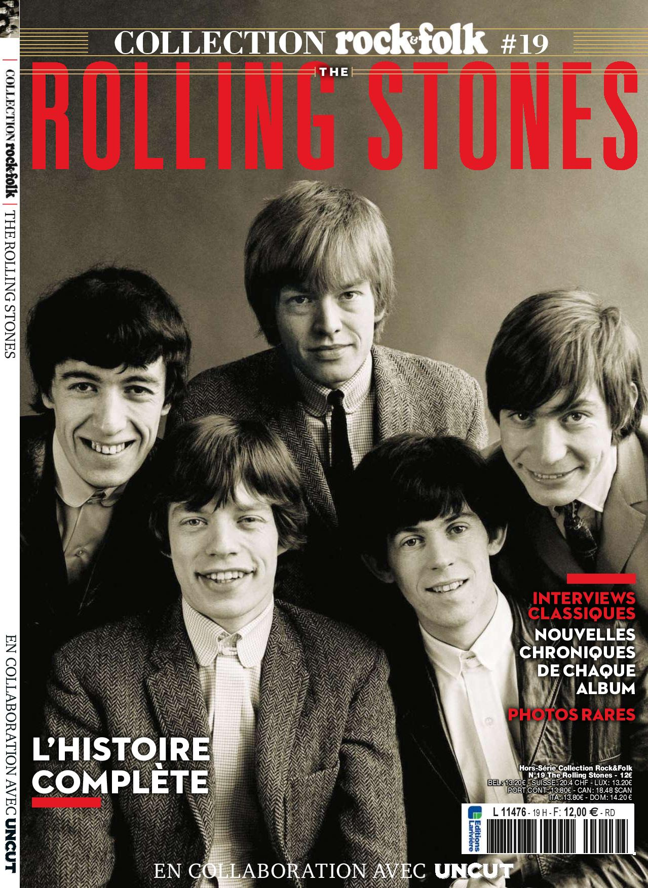 The Rolling Stones Rock&Folk collection