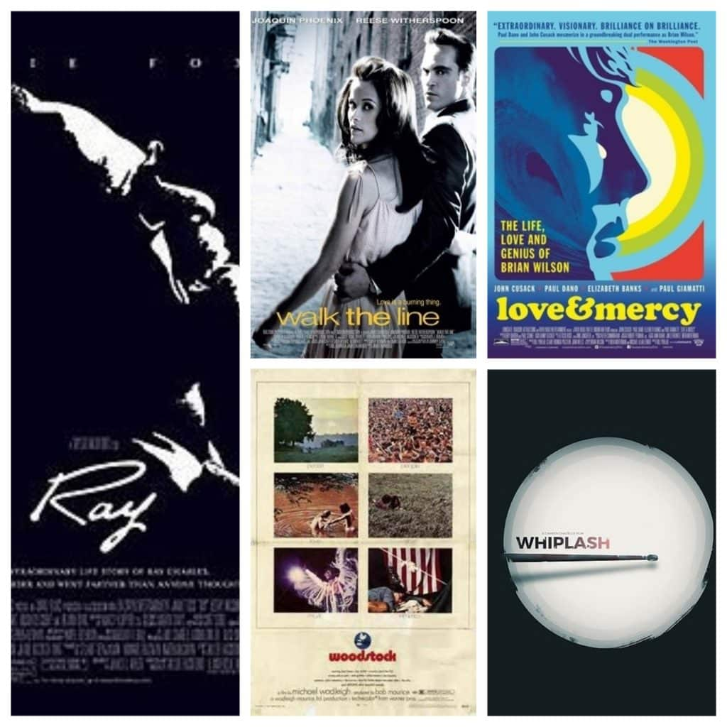 Montage Top 10 films musicaux