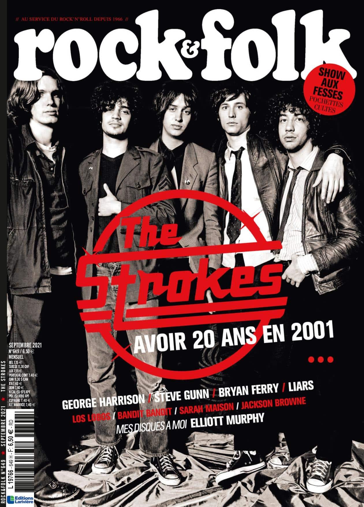The Strokes Rock&Folk n°649