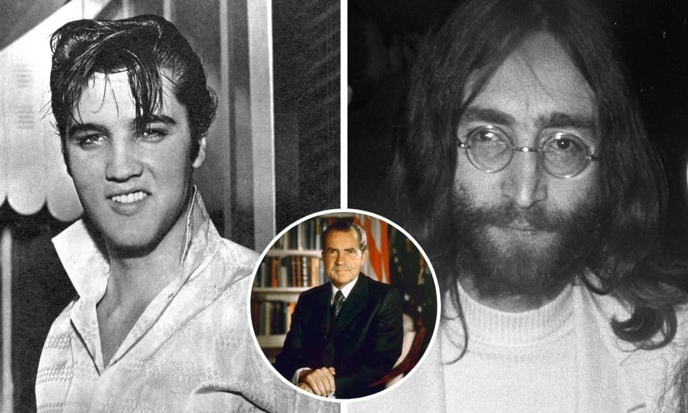 Elvis Presley espionnait John Lennon