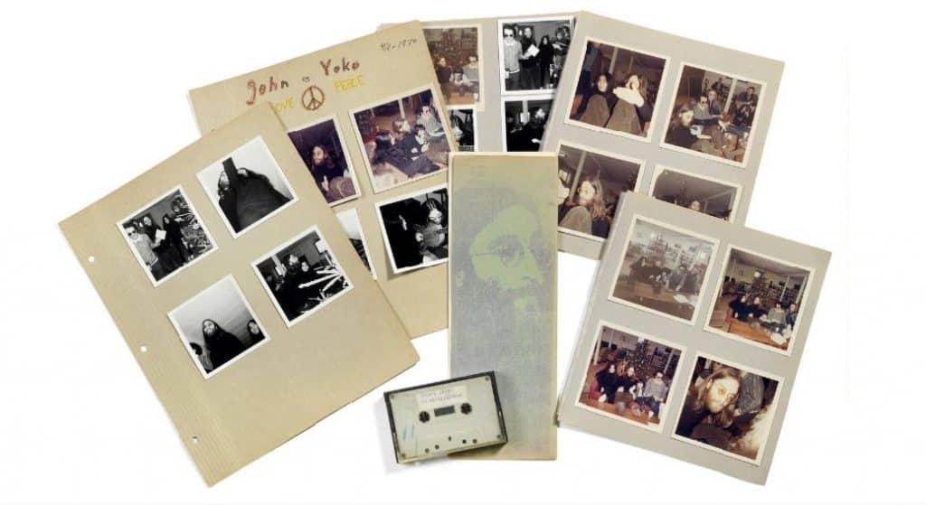 John Lennon cassette inédit