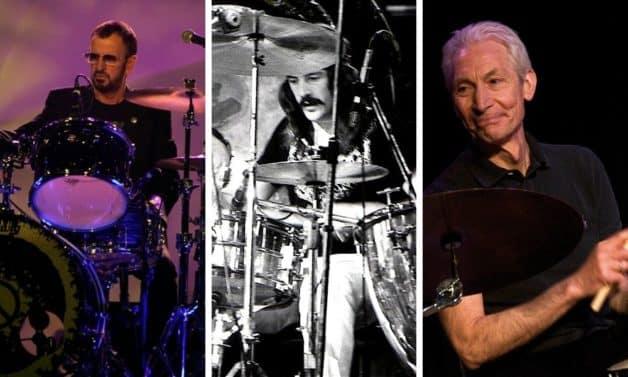 Charlie Watts-John Bonham-Ringo Starr