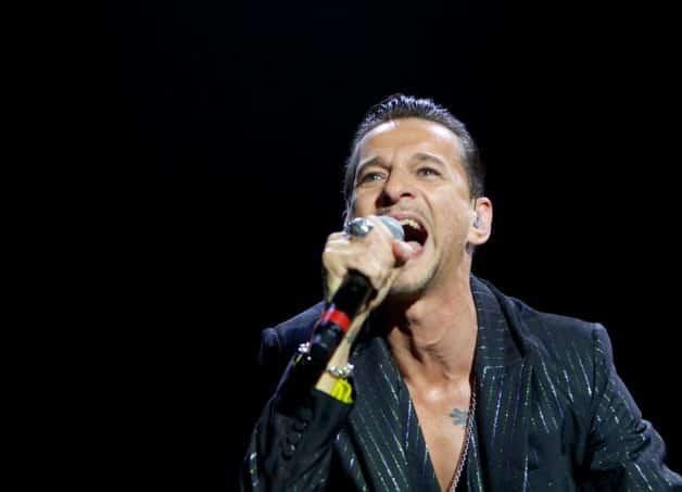 Dave Gahan de Depeche Mode